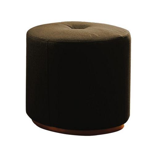 Puff-Decorativo-Marrom-em-Veludo-50cm-Konfor