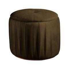 Puff-Decorativo-Marrom-em-Veludo-50cm-Ust