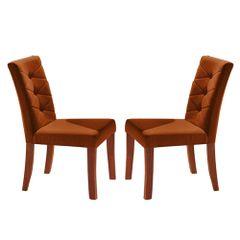 Kit-2-Cadeiras-de-Jantar-Estofada-Ocre-em-Veludo-Sirt