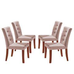 Kit-4-Cadeiras-de-Jantar-Estofada-Rose-em-Veludo-Sirt