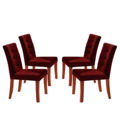 Kit-4-Cadeiras-de-Jantar-Estofada-Bordo-em-Veludo-Sirt