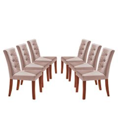 Kit-6-Cadeiras-de-Jantar-Estofada-Rose-em-Veludo-Sirt
