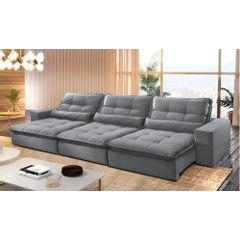 Sofa-Retratil-e-Reclinavel-5-Lugares-Cinza-350m-Nouvel---Ambiente