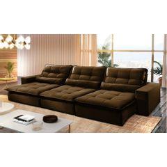 Sofa-Retratil-e-Reclinavel-6-Lugares-Marrom-380m-Nouvel---Ambiente