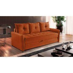 Sofa-Cama-3-Lugares-Ocre-em-Veludo-213m-Bled---Ambiente