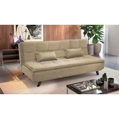Sofa-Cama-3-Lugares-Bege-em-Veludo-189m-Haas---Ambiente