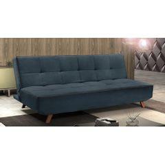 Sofa-Cama-3-Lugares-Azul-em-Veludo-189m-Rem---Ambiente