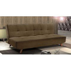 Sofa-Cama-3-Lugares-Marrom-em-Veludo-189m-Rem---Ambiente