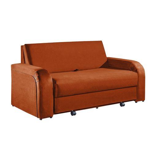 Sofa-Cama-2-Lugares-Ocre-em-Veludo-158m-Fernie