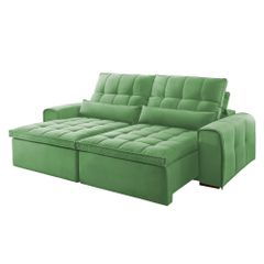 Sofa-Retratil-e-Reclinavel-4-Lugares-Verde-270m-Bayonne