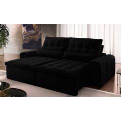 Sofa-Retratil-e-Reclinavel-4-Lugares-Preto-270m-Bayonne---Ambiente
