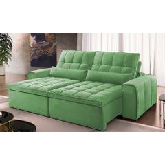 Sofa-Retratil-e-Reclinavel-4-Lugares-Verde-290m-Bayonne---Ambiente