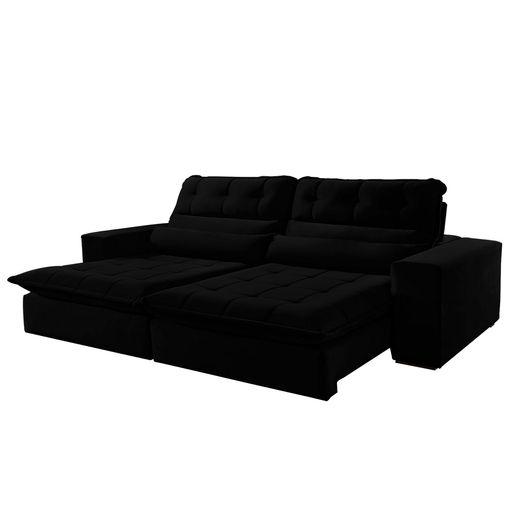 Sofa-Retratil-e-Reclinavel-4-Lugares-Preto-290m-Renzo