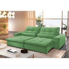 Sofa-Retratil-e-Reclinavel-4-Lugares-Verde-250m-Nouvel---Ambiente
