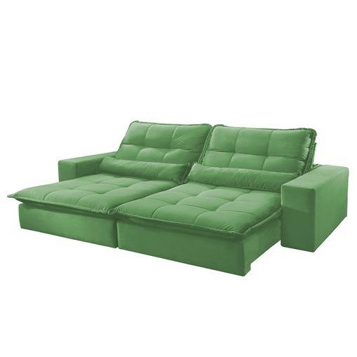 Sofa-Retratil-e-Reclinavel-4-Lugares-Verde-270m-Nouvel
