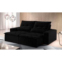 Sofa-Retratil-e-Reclinavel-4-Lugares-Preto-270m-Reidy---Ambiente