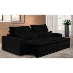 Sofa-Retratil-e-Reclinavel-3-Lugares-Preto-210m-Odile---Ambiente
