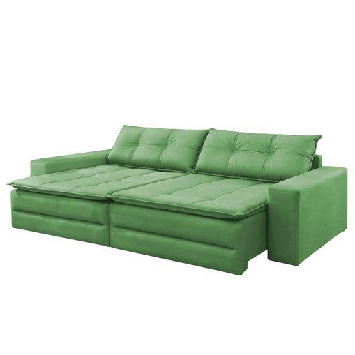 Sofa-Cama-Retratil-e-Reclinavel-4-Lugares-Verde-244m-Amale