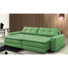 Sofa-Cama-Retratil-e-Reclinavel-4-Lugares-Verde-244m-Amale---Ambiente
