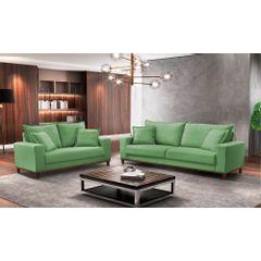 Sofa-2-Lugares-Verde-em-Veludo-156m-Diller---Ambiente