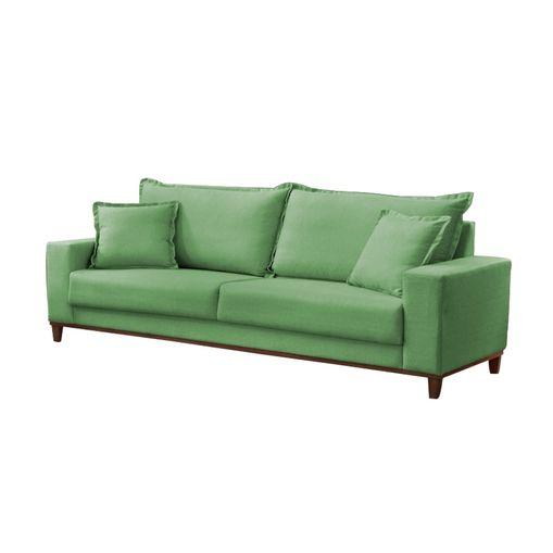 Sofa-3-Lugares-Verde-em-Veludo-216m-Diller
