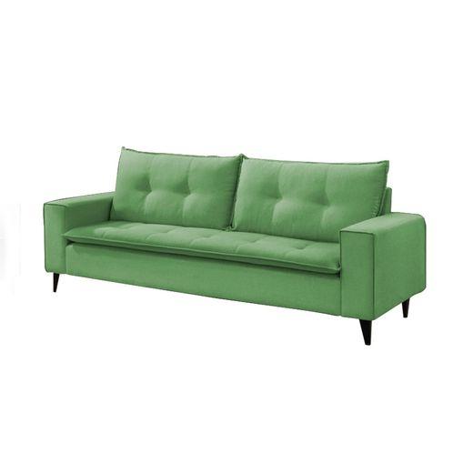Sofa-3-Lugares-Verde-em-Veludo-216m-Meier