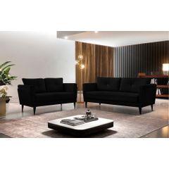 Sofa-3-Lugares-Preto-em-Veludo-189m-Bardi---Ambiente
