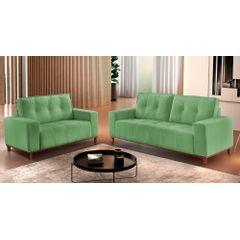 Sofa-2-Lugares-Verde-em-Veludo-140m-Duany---Ambiente