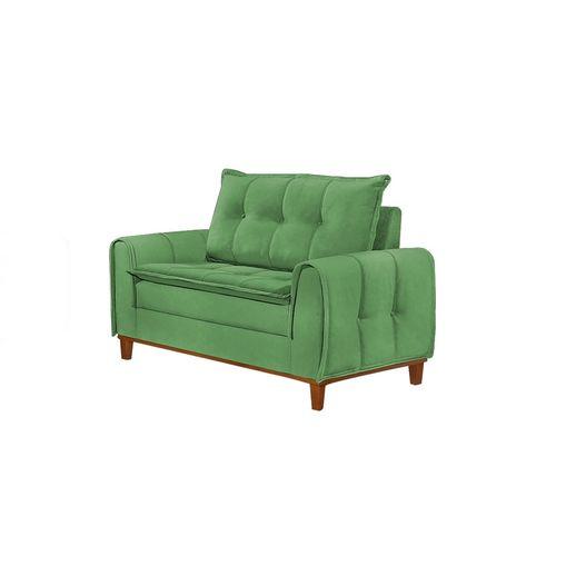 Sofa-2-Lugares-Verde-em-Veludo-122m-Kliass