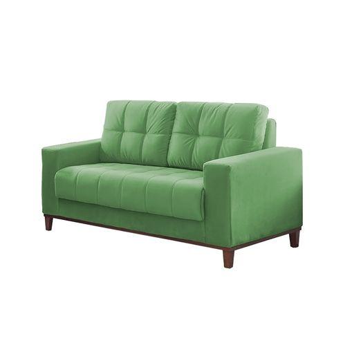 Sofa-2-Lugares-Verde-em-Veludo-157m-Lerner