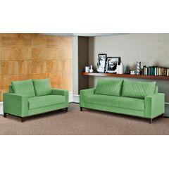 Sofa-2-Lugares-Verde-em-Veludo-157m-Etel---Ambiente
