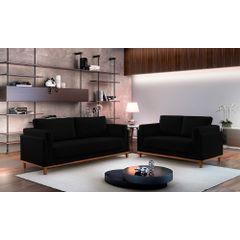 Sofa-2-Lugares-Preto-em-Veludo-147m-Sassen---Ambiente