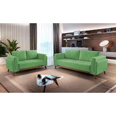 Sofa-2-Lugares-Verde-em-Veludo-157m-Eileen---Ambiente