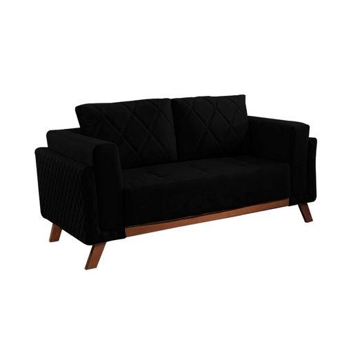 Sofa-2-Lugares-Preto-em-Veludo-157m-Eileen