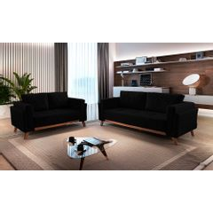 Sofa-2-Lugares-Preto-em-Veludo-157m-Eileen---Ambiente