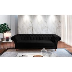 Sofa-3-Lugares-Preto-em-Veludo-244m-Zaha---Ambiente