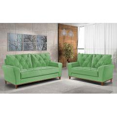Sofa-2-Lugares-Verde-em-Veludo-154m-Deniot---Ambiente