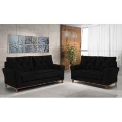 Sofa-3-Lugares-Preto-em-Veludo-204m-Deniot---Ambiente