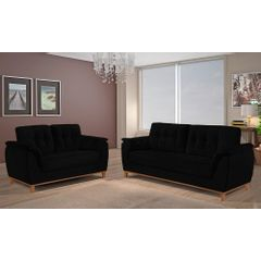 Sofa-3-Lugares-Preto-em-Veludo-207m-Boeri---Ambiente