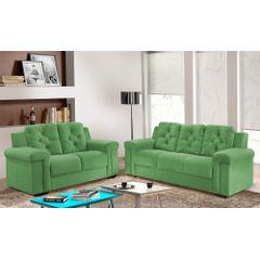 Sofa-2-Lugares-Verde-em-Veludo-162m-Pelli---Ambiente