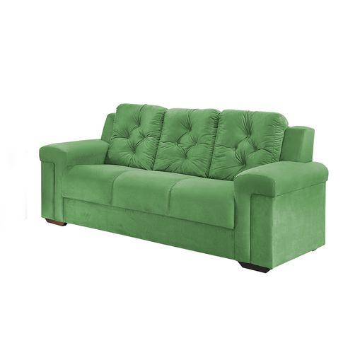 Sofa-3-Lugares-Verde-em-Veludo-211m-Pelli