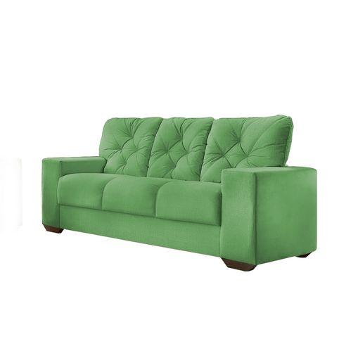 Sofa-3-Lugares-Verde-em-Veludo-200m-Ieoh