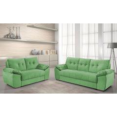 Sofa-2-Lugares-Verde-em-Veludo-162m-Mies---Ambiente