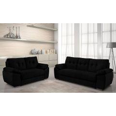 Sofa-3-Lugares-Preto-em-Veludo-212m-Mies---Ambiente