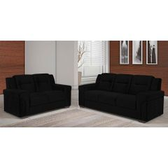 Sofa-2-Lugares-Preto-em-Veludo-150m-Fuller---Ambiente