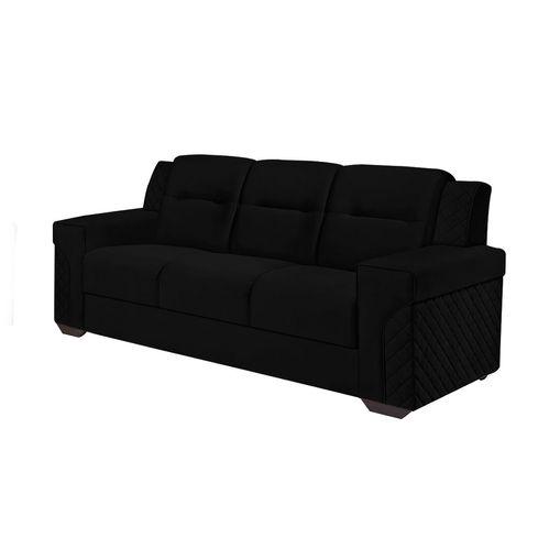 Sofa-3-Lugares-Preto-em-Veludo-200m-Fuller