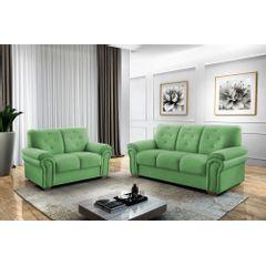 Sofa-2-Lugares-Verde-em-Veludo-147m-Ohtake---Ambiente