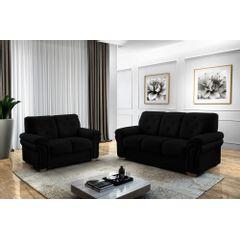 Sofa-2-Lugares-Preto-em-Veludo-147m-Ohtake---Ambiente