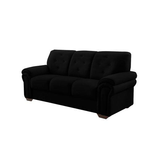Sofa-3-Lugares-Preto-em-Veludo-193m-Ohtake