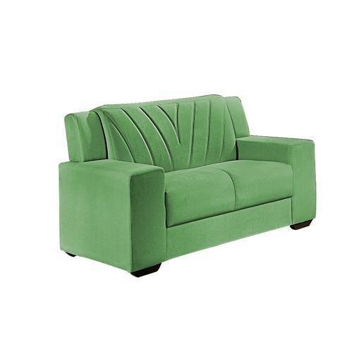 Sofa-2-Lugares-Verde-em-Veludo-146m-Gehry